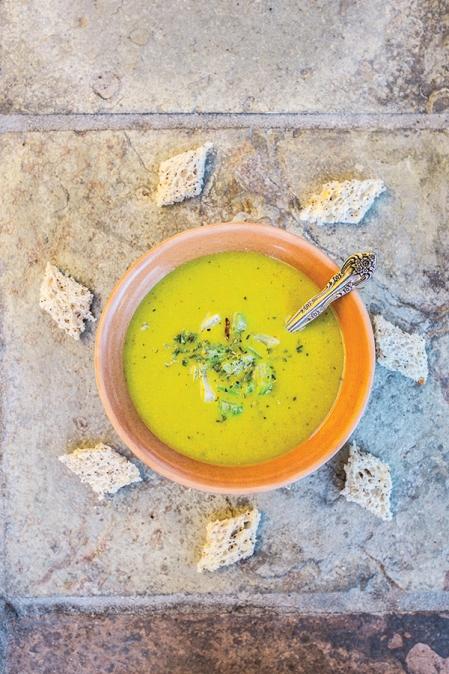 Pea soup / Liber cure cocorum / ca. 1430, Great Britain (picture inSmaak! Een geschiedenis in 120 recepten)